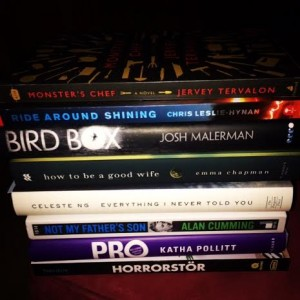 book stack oct 2014